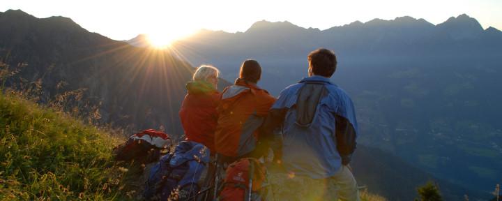Sonnenaufgang-Mut